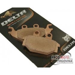 Brake pads Kymco Maxxer 250 , MXU 250 - 500 , UXV 700i , SYM Quad Raider 600 Delta Braking sintered