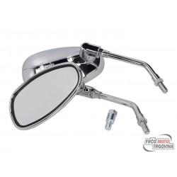 mirror set ODF chrome M10 / M10 E-marked universal