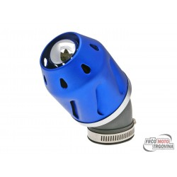 air filter Grenade blue bent version 42mm carb connection