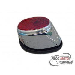 Rear light  Hella - Chrome - Tomos / Puch