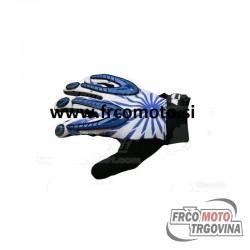 Gloves - Gel - M Zone X2 -S- BLUE