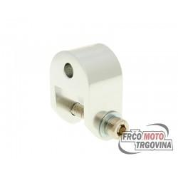 Distancer CNC 40mm srebrna boja za Piaggio