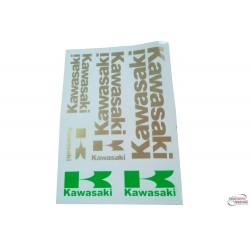 Set nalepk Kawasaki - 35 x25cm