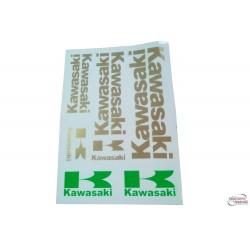 Sticker set Kawasaki- 35 x25 cm