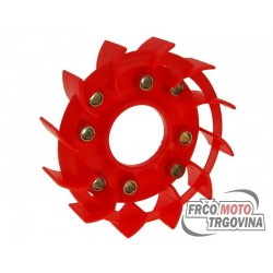 Ventilator hlađenja Naraku Racing crvena/i za Kymco, Baotian, GY6 50, 139QMB