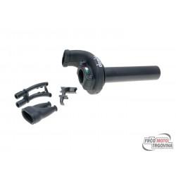 Hitra ročica plina - Domino KRE 03 / 45mm Črna- ATV / Off-road universal