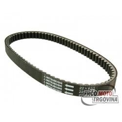 Drive belt Mitsuboshi for Aprilia, Benelli, Italjet, Malaguti, MBK, Yamaha