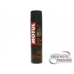 MOTUL MC Care A2 air filter oil spray 400ml