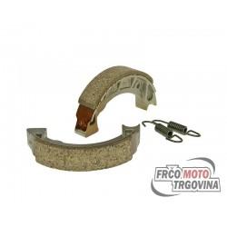 brake shoe set 105x20mm for drum brake for Tomos,Piaggio / Vespa Ciao, Bravo, Grillo, SI, Vespino