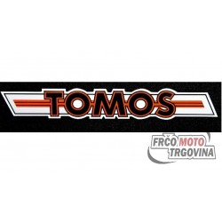 Nalepka Tomos Red Crome - 1kos