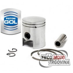 Piston 38.75 x 12 mm SACHS 2-3-4M , Beta DEMM 49cc