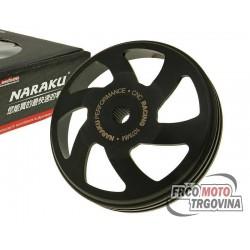 clutch bell Naraku V.2 CNC 107mm for Piaggio, Peugeot, Kymco, SYM, GY6