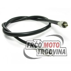 speedometer cable with cap nut - one square and one slotted drive end - version B