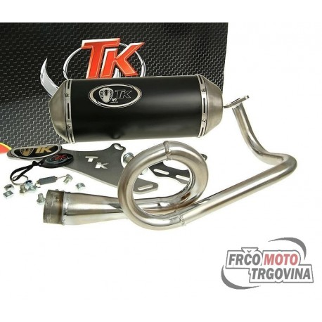 Exhaust Turbo Kit G Max 4T Sport SYM Fiddle 2 , Symply 2 50cc 4-stroke