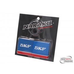 Crankshaft bearing set Naraku SKF metal cage for Peugeot vertical Euro 1