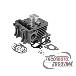 Cilinder set Piaggio 50cc 4T ZIP , FLY , LIBERTY , VESPA ET4