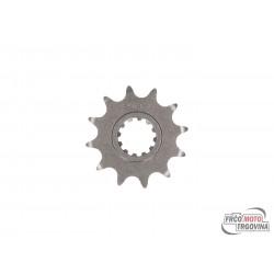 Prednji verižnik AFAM 12z 420 za Minarelli AM6 , CPI , Generic , Belline , K-Sport