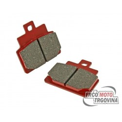 Brake pads organic for Aprilia Scarabeo 100