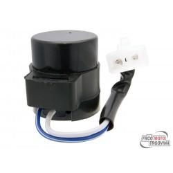Rele smernikov 2-pin 12V bez zvučnega signalia z vtikačem