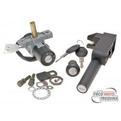 Lock set for Aprilia SR50 Di-Tech , SR50 Street , WWW