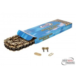 Drive chain AFAM reinforced gold - 420 R1-G x 140