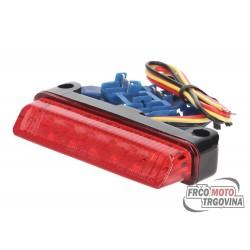 Stop luč LED Rdeča 78x16mm E-oznaka universal
