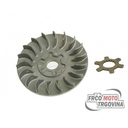 Half pulley Naraku incl. washer claw for variator 16mm engines for CPI , Keeway