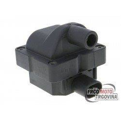 CDI unit w. ignition coil for Piaggio , Vespa , Aprilia , Peugeot , Derbi , Gilera 50-500cc 4T