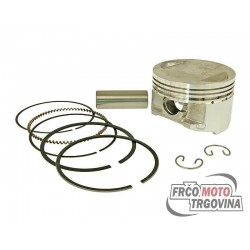 Piston kit Airsal sport 163.4cc 60mm for 157QMJ , GY6 150cc