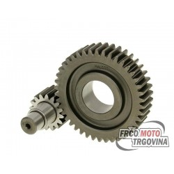 Secondary transmission gear kit Malossi HTQ 16/42 for Piaggio Leader , Gilera 125 - 200 4-stroke LC , 125 4-stroke AC
