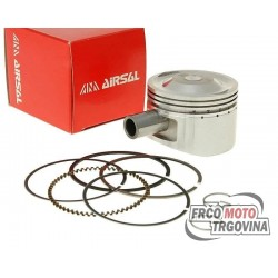 Piston kit Airsal Sport 81cc - 50mm 139QMB for GY6 50cc , Kymco 50 4-stroke