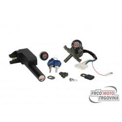 Ključavnica set za Aprilia SR AC/LC , Rally AC/LC