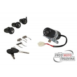 Lock set for Honda Pantheon , Foresight , Tomos