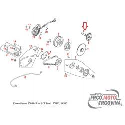 Osovina za intermedijer zupčanik Kymco MXU 250 , Maxxer 250 , Xciting 300