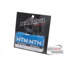 Crankshaft bearing set Naraku heavy duty incl. oil seals for Kymco , SYM vertical