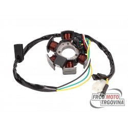 Alternator stator 85W for Derbi Senda , Aprilia RX , SX , Gilera RCR , SMT