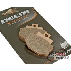 Zavorne ploščice DELTA Braking  Sintered -Gilera DNA 125-150 / Runner Gilera - 125 / 200- Vepa GT - GTS-GTV