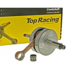 Crankshaft Top Racing full circle HQ for Minarelli AM, Generic, KSR-Moto, Keeway, Motobi, Ride, CPI, 1E40MA, 1E40MB