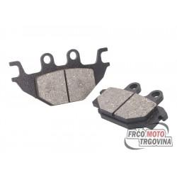 Brake pads for Kymco KXR , MXU , Maxxer , UXV, SYM Quad Lander , Yamaha MT , YZF-R