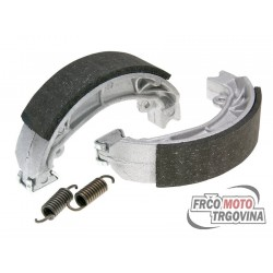 Brake shoe 110x25mm set Polini for Aprilia Amico , SR , Malaguti Centro , Yamaha Jog