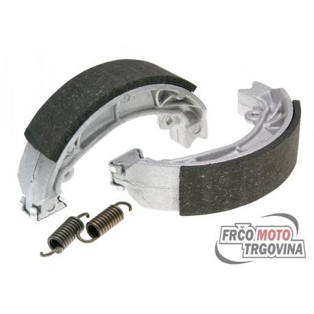 Brake shoe 110x25mm set Polini for Aprilia Amico , SR , Malaguti Centro , Yamaha Jog