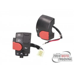 Switch assy set left and right for Yamaha Aerox , MBK Nitro -2012
