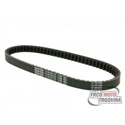 Drive belt Dayco type 724mm for Piaggio short version , Honda , Peugeot