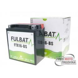 Akumulator Fulbat FTX16-BS 12V 14Ah brez vzdrževanja