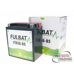 Battery Fulbat FTX16-BS MF 12V 14Ah maintenance free