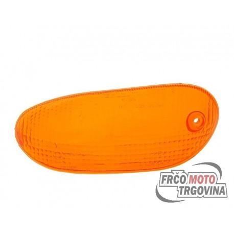 Turn signal lens front left orange for Gilera Stalker