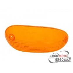 Turn signal lens front right orange for Gilera Stalker