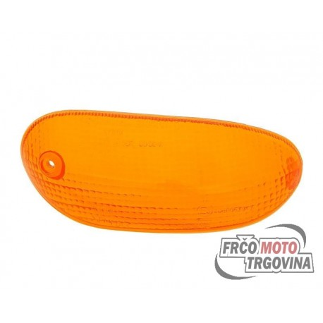 Turn signal lens front right orange for Gilera Stalker