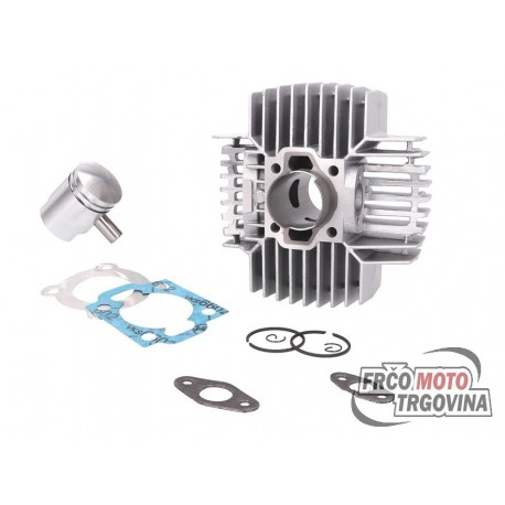 Cylinder kit 60cc 40mm for Puch Monza , X50-4 4-speed , White Speed