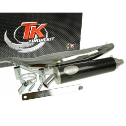 Izpuh Turbo Kit Road RQ chrome E-marked Aprilia RS50
